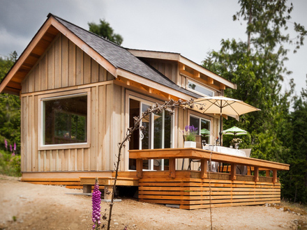 Weekend Fun: The Gambier Island Tiny Getaway Cabin Small House Bliss Hotels Gambier