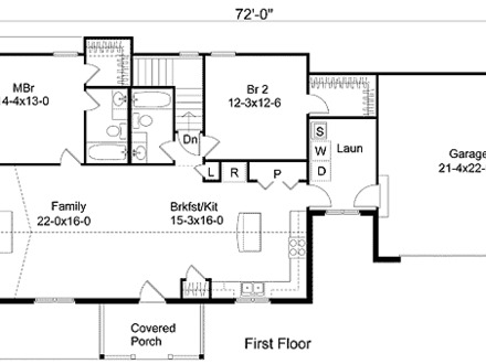 1 Bedroom House Plans Simple House Plans