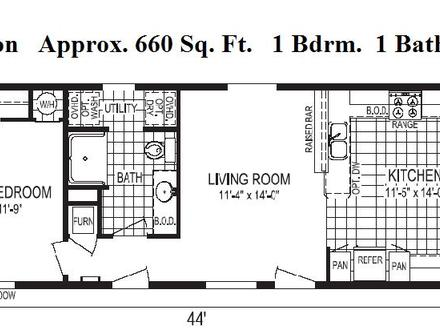 1000 Elevator Floor Floor Plans Under 1000 Sq FT