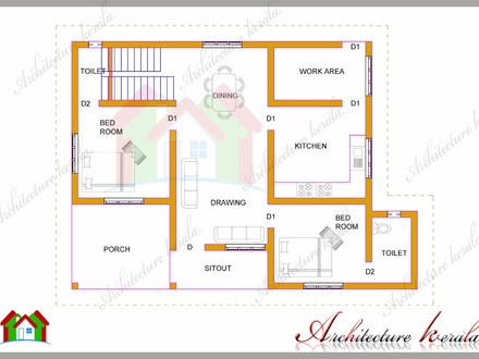 1200 Square Foot House Plans 1200 Square Foot House with Laundry Room