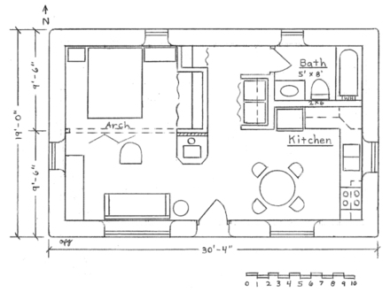 16X24 Cabin Floor Plans Blueprints for 16X24 Hunting Cabin