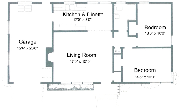 2 Bedroom House Plans Free 3D 2 Bedroom House Plans