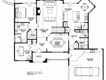 2 Bedroom House Simple Plan Simple House Floor Plans to Build