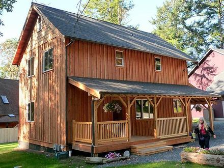 2 Story Portable Cabins Small 2 Story Cabin Plans