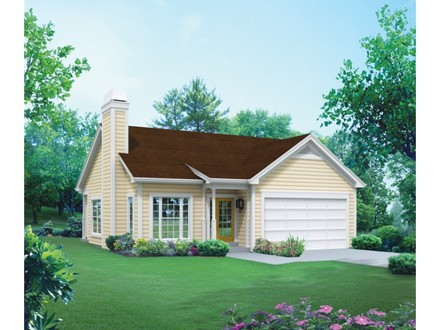 3D 3 Bedroom House Plans Homes Plans 3 Bedrooms 2 Living Areas