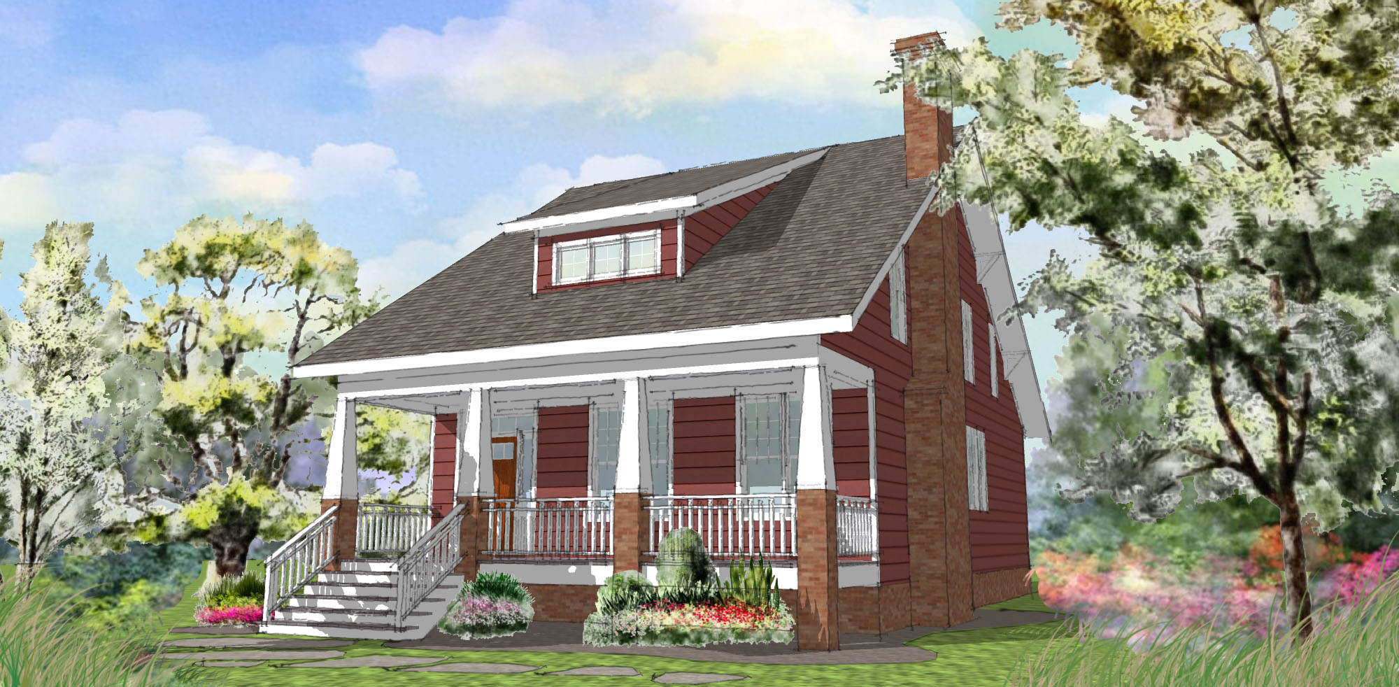 Arts and crafts house arts and crafts home interiors arts for Arts crafts house plans