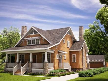 Arts and Crafts Interior Arts and Crafts Bungalow House Plans