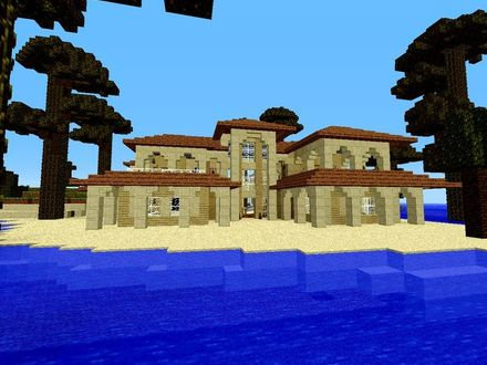 Big Minecraft Houses Minecraft Beach House Ideas