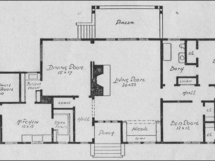 Bungalow House Floor Plans Bungalow House Plans with Porches