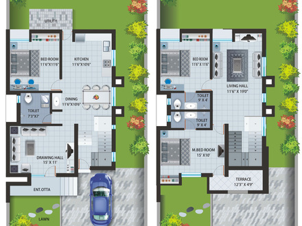 Bungalow House Plans Country House Plans
