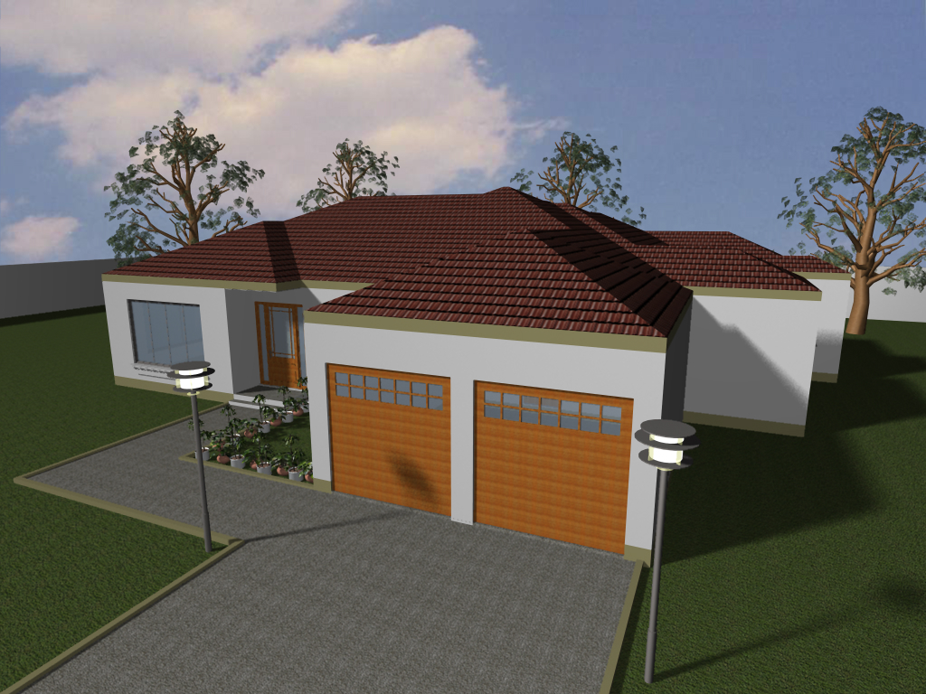 Bungalow plan design bungalow cottage house plans 3 bed for Cottage and bungalow house plans