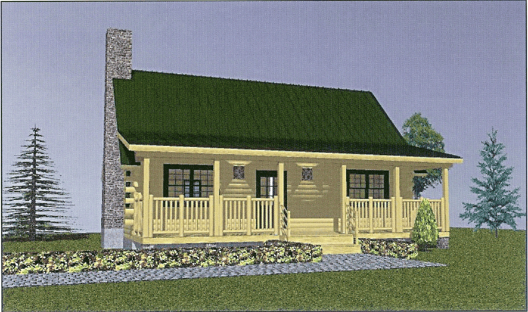 Complete log home package pricing log home kits prices for Complete kit homes