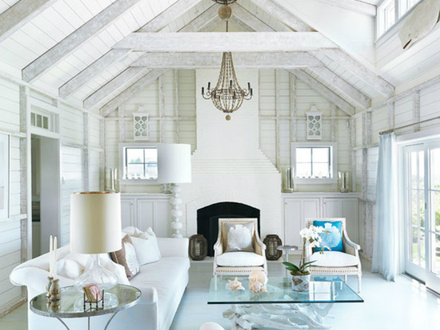 Cottage Beach House Living Room Beach Cottage Living Rooms Decorating Ideas