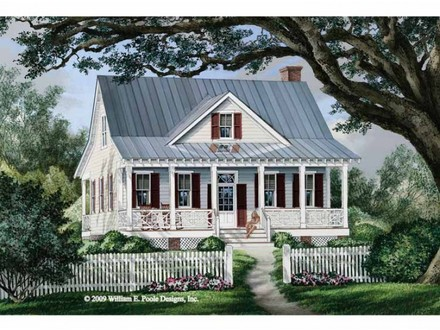 Cottage Country Farmhouse Plan Cottage House Plans Southern Living