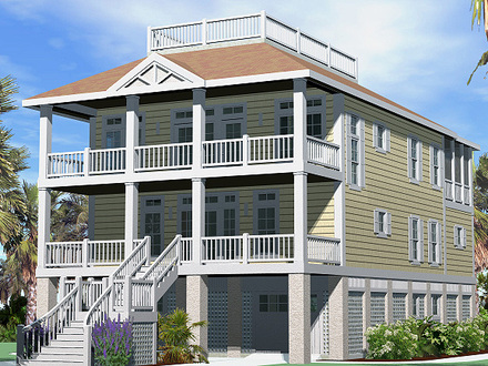 Cottage House Plans with Wrap around Porch Cottage House Plans with Roof Decks