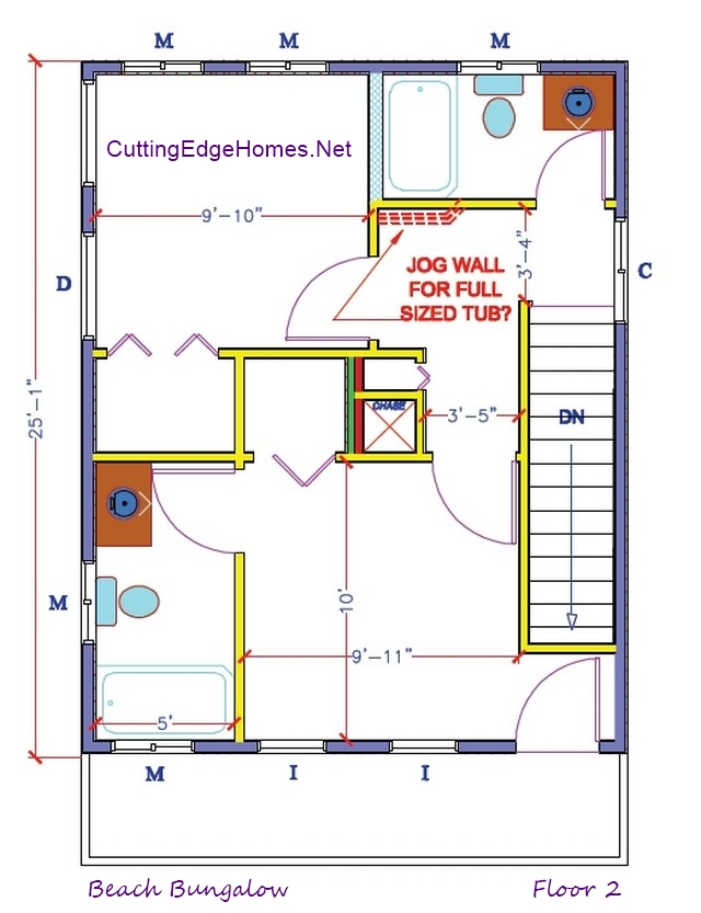Cottage modular homes bungalow modular home floor plans for Free bungalow floor plans