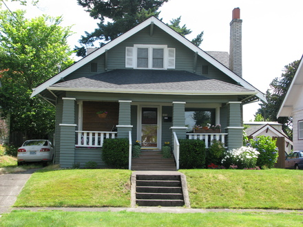Craftsman House Bungalow House