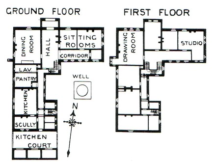 Cragside Arts and Crafts Architecture House Plans