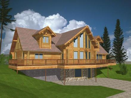 Custom Log Homes Log Home Plans and Designs