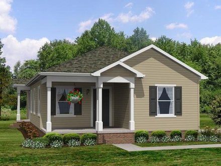 Cute Small House Plan Small Two Bedroom House Plans