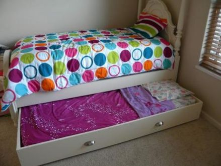 DIY Do It Yourself Trundle Bed