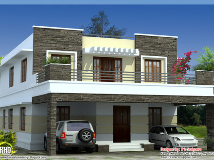 Flat Roof House Plans Designs Straight Roof House Plans