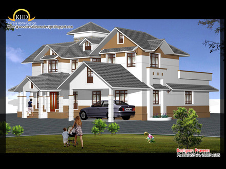 Home Elevation Design India One Story Home Elevations