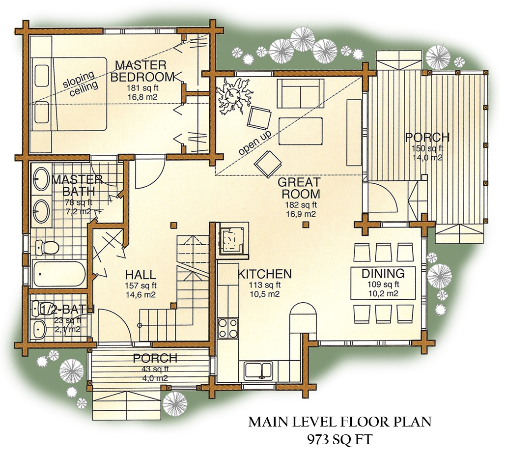 Luxury Homes Floor Plan Design: Inside Luxury Log Homes Luxury Log Cabin Home Floor Plans