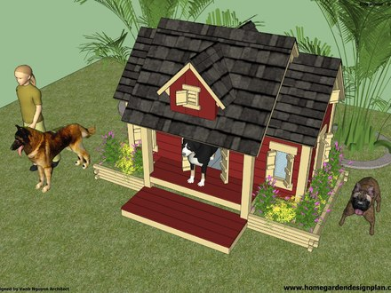 Insulated Dog House Building Plans DIY Insulated Dog House