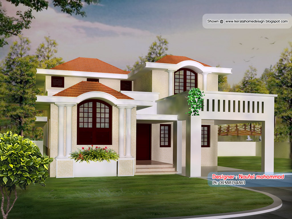 Kerala home plans and elevations kerala 3 bedroom house for Kerala house plans and elevations