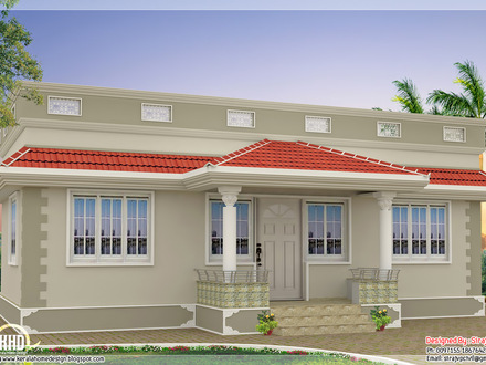Kerala Style Single Floor House Plan Kerala Style Curry