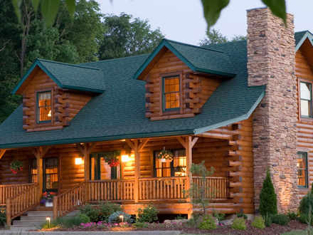 Ranch style log home plans ranch floor plans log homes for Log cabin ranch home plans