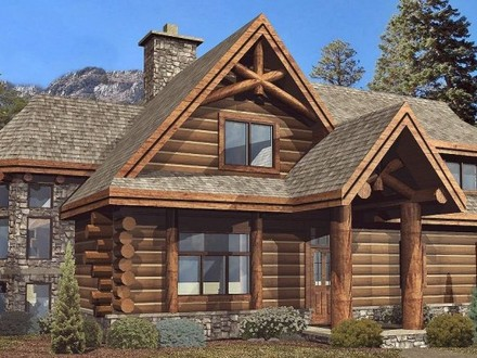 Log Cabin Homes Floor Plans Cabin House Plans