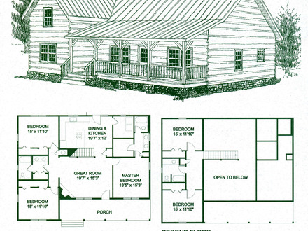 Log Cabin Homes Floor Plans Log Cabin Floor Plans