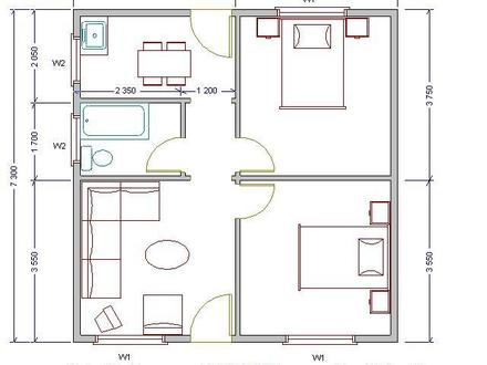 Low Cost Houses for Rent Simple Low Cost House Plans