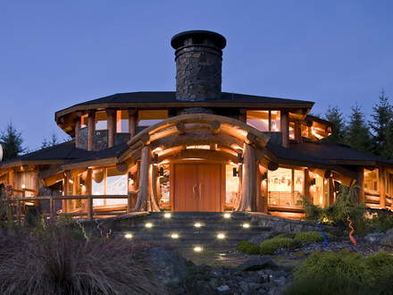 Milled Log Homes timber frame homes across north america as well as overseas