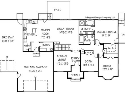 Mobile Home Addition Plans Home Addition Plans for Ranch Style House