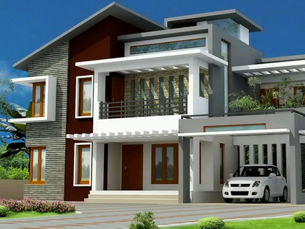 Modern Bungalows Floor Plan Designs Modern Bungalow Exterior Design