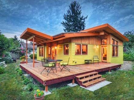Modern Small House Plans Small Houses 800 Square FT