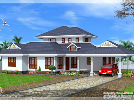 Modern Tiny House Floor Plans Kerala Single Floor House Designs
