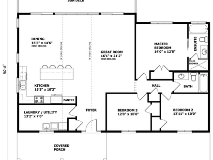 Bungalow house plans custom home house plans canadian for Canadian cottage house plans