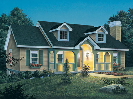 New England Cottage Plans New England Style Cottage House Plan