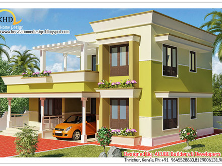 Nice Modern Houses Modern Front House Elevation Designs