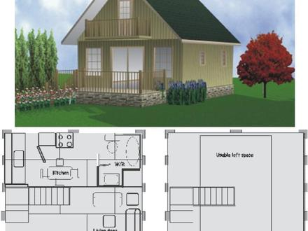 One Story Cottage 2 Story Cottage Floor Plans