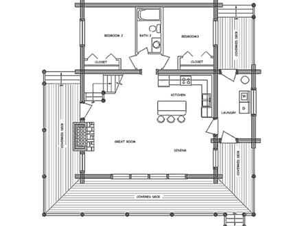 Open Floor Plans Country Living Country Home Floor Plans