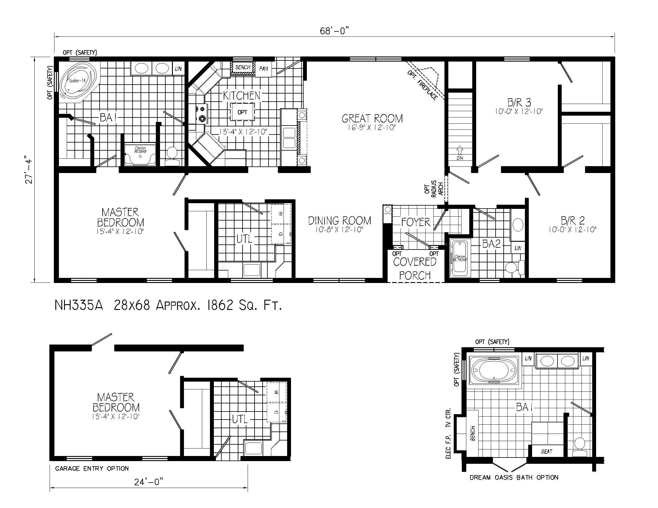 Ranch Style House Plans with Open Floor Plan Ranch House Floor Plans