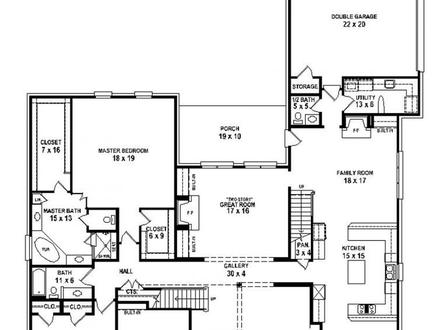 Simple 5 Bedroom House Plans 5 Bedroom House Plans One Story