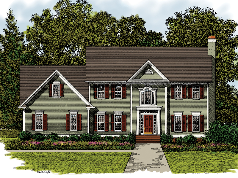 Simple two story house plans two story house plan tiny for Simple 2 story house plans