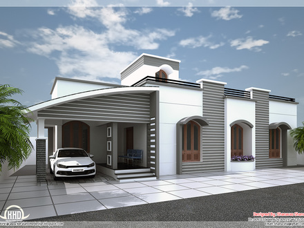 Single Floor House Plans with Open Design Modern Single Floor House Designs