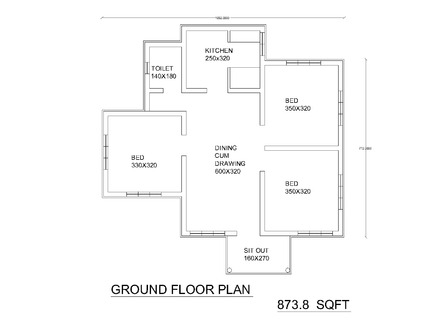 Single Floor House Plans with Open Design Single Floor House Plans